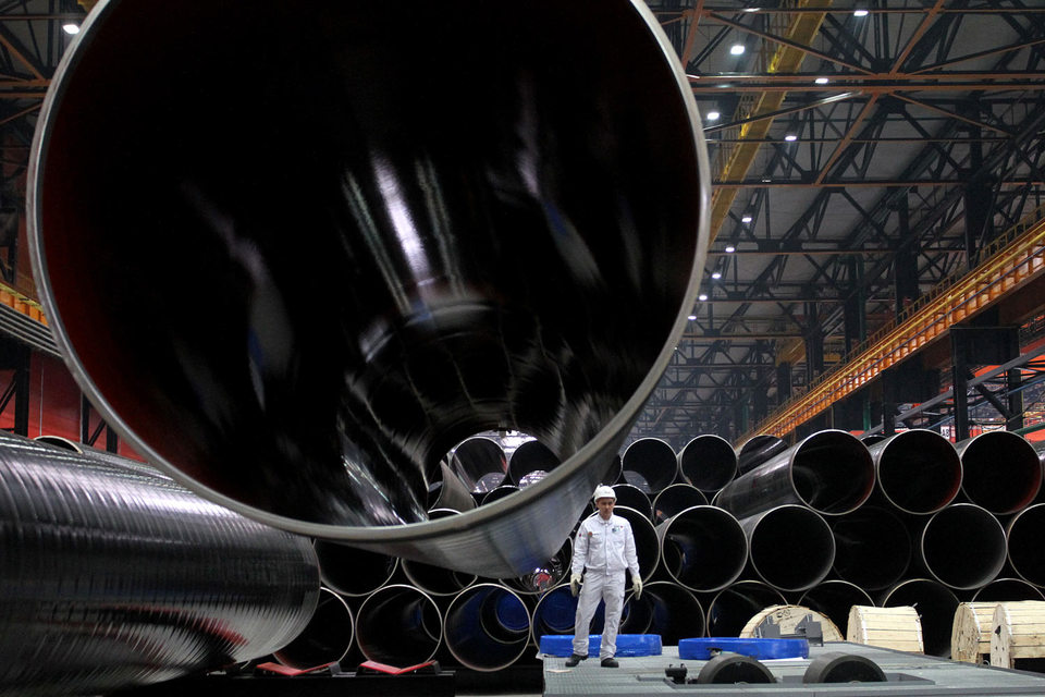 Спор о поставках труб «Газпрому» придется решать Владимиру Путину