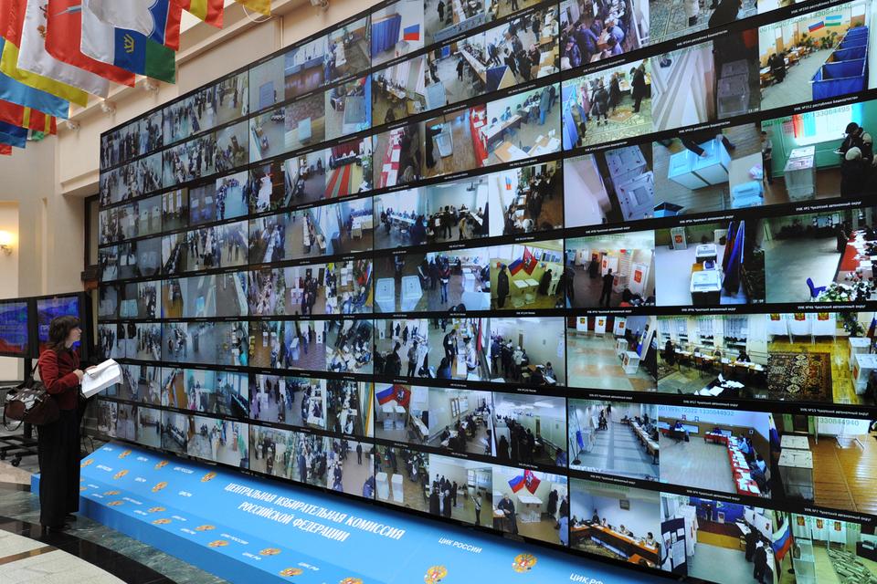 Выборы президента 2012 г. были единственным случаем массового применения видеокамер