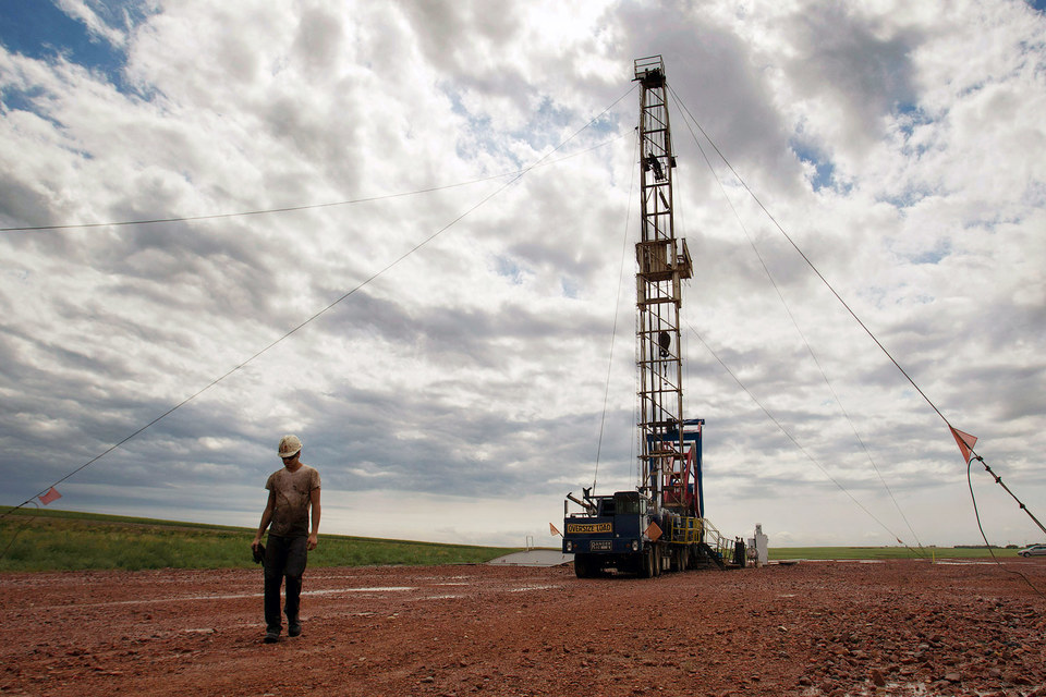Месторождение нефти в Северной Дакоте