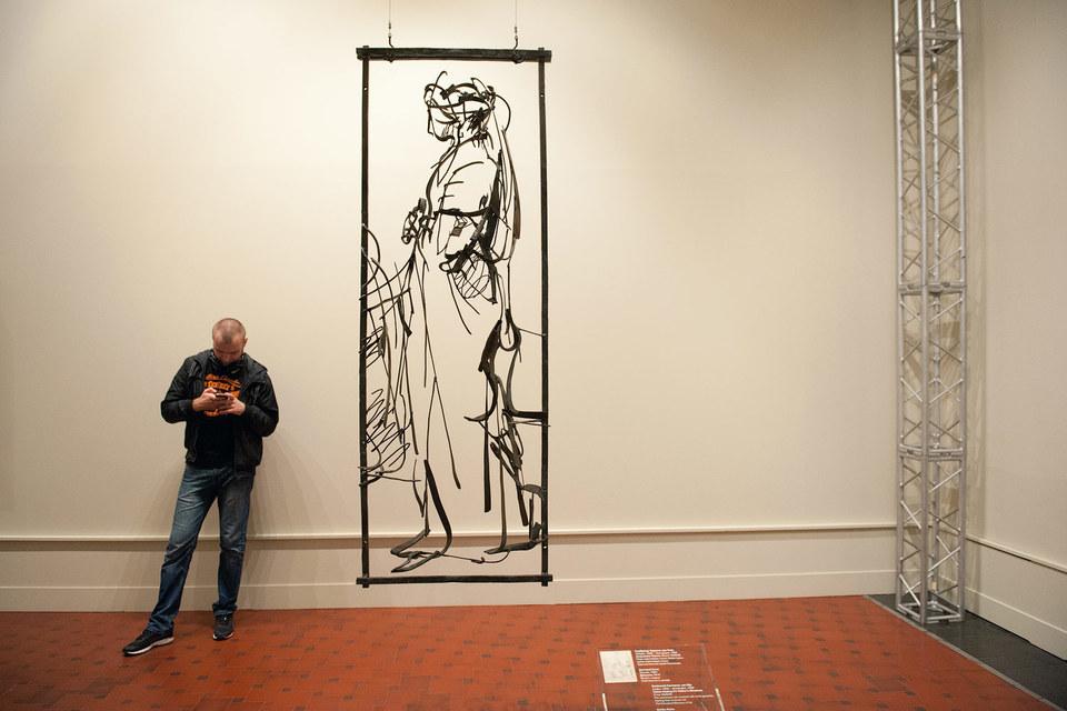«Девушка» Гутова вышла из рисунка Рембрандта