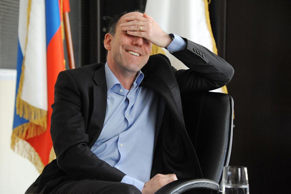 Стефан Дюшарм (на фото) уступит пост главного исполнительного директора X5 Retail Group Игорю Шехтерману