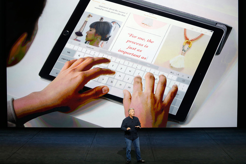 IPad Pro шириной не уступит ноутбуку MacBook Air