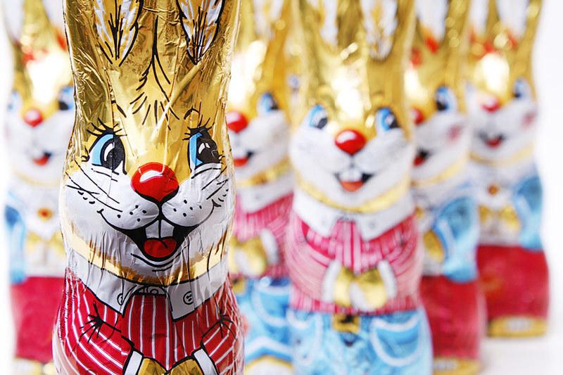 Шоколадные зайцы  похудеют
