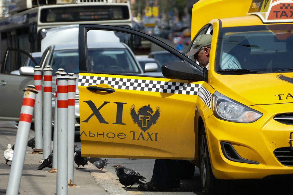 У московских таксистов появился еще один серьезный конкурент