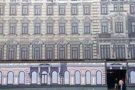 Гостиница «Люксъ» на Тверской улице должна открыться после комплексной реконструкции в 2018 г.
