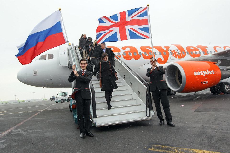 С начала кризиса EasyJet последовательно сокращала число рейсов между Москвой и Лондоном