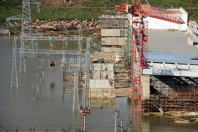 Подтопление Загорской ГАЭС-2 произошло в сентябре 2013 года