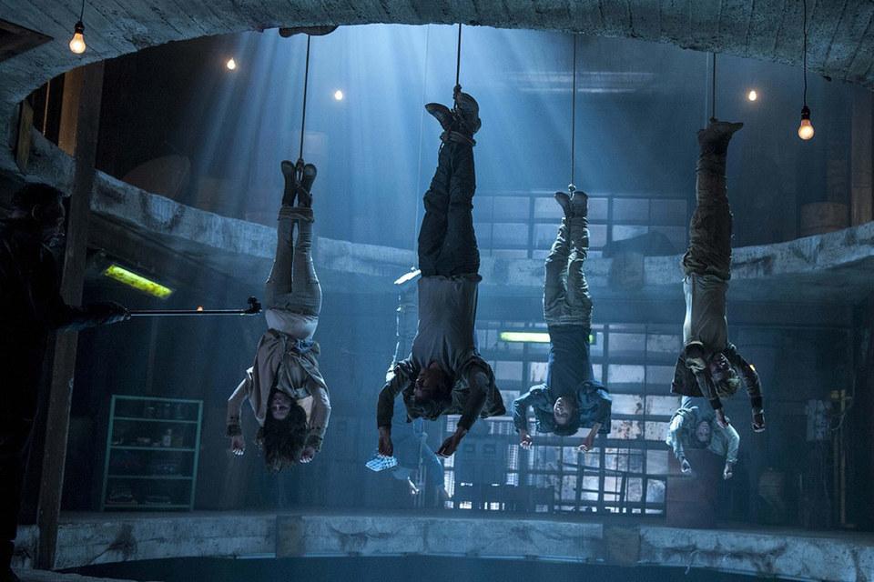 Кадр из фильма «Бегущий в лабиринте 2»