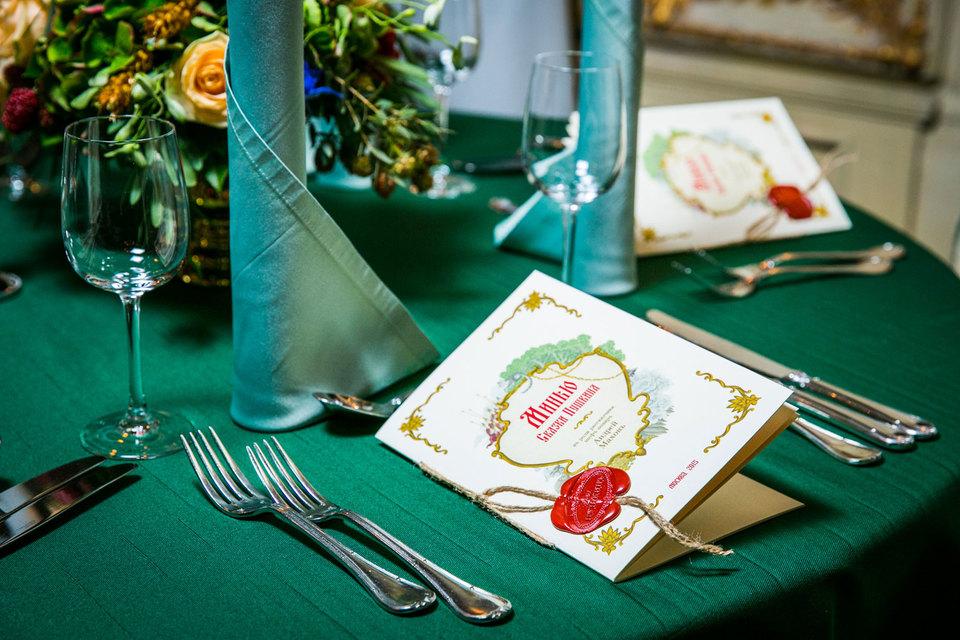 В гастрономическом спектакле «Сказки Пушкина» шесть перемен блюд, вдохновленных знаменитыми сказками