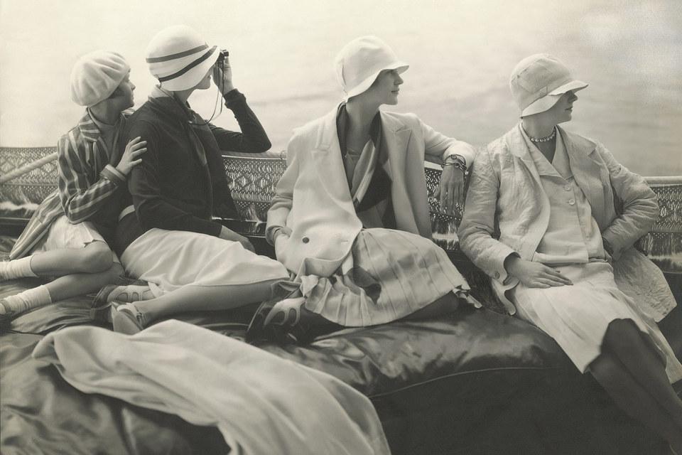 Эдвард Штайхен. На яхте Джорджа Бейера. 1928