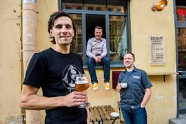Артем Кольчуков, Дмитрий Булдаков и Никита Филиппов проработали в пивоваренной отрасли  долгие годы