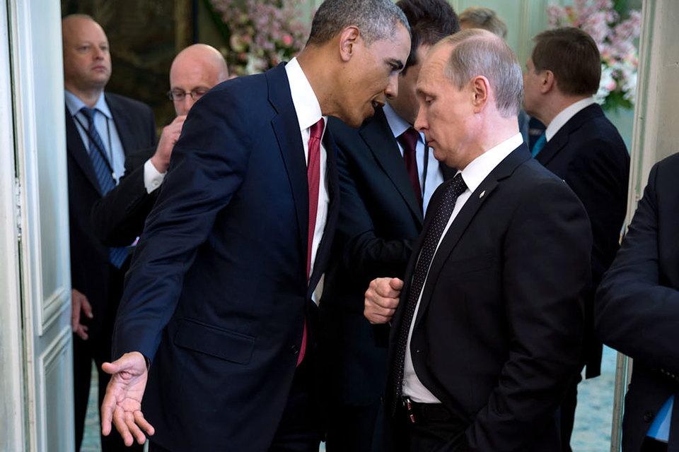 Пресс-секретарь Путина Дмитрий Песков говорил накануне, что главной темой переговоров двух лидеров будет Сирия