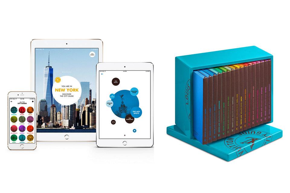 Louis Vuitton выпускает путеводители с 1998 г., с ноября они будут доступны в мобильной версии