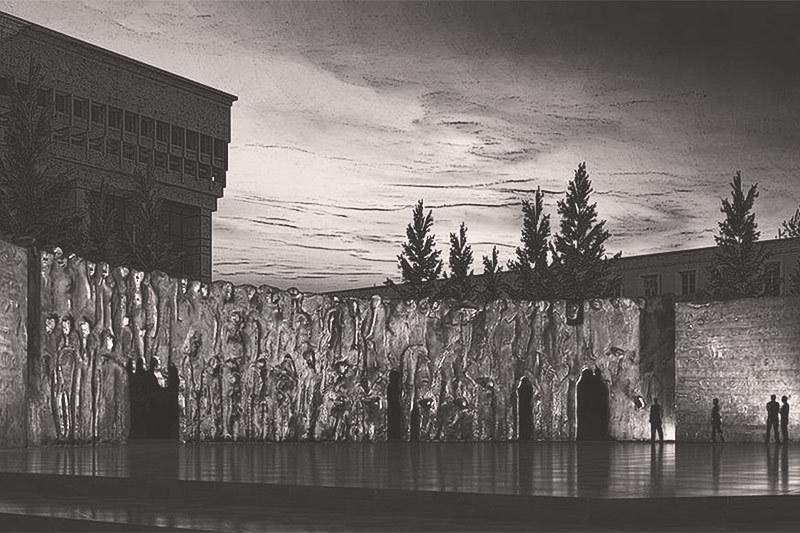 Победителем конкурса проектов Монумента жертвам репрессий стала «Стена скорби» скульптора Георгия Франгуляна