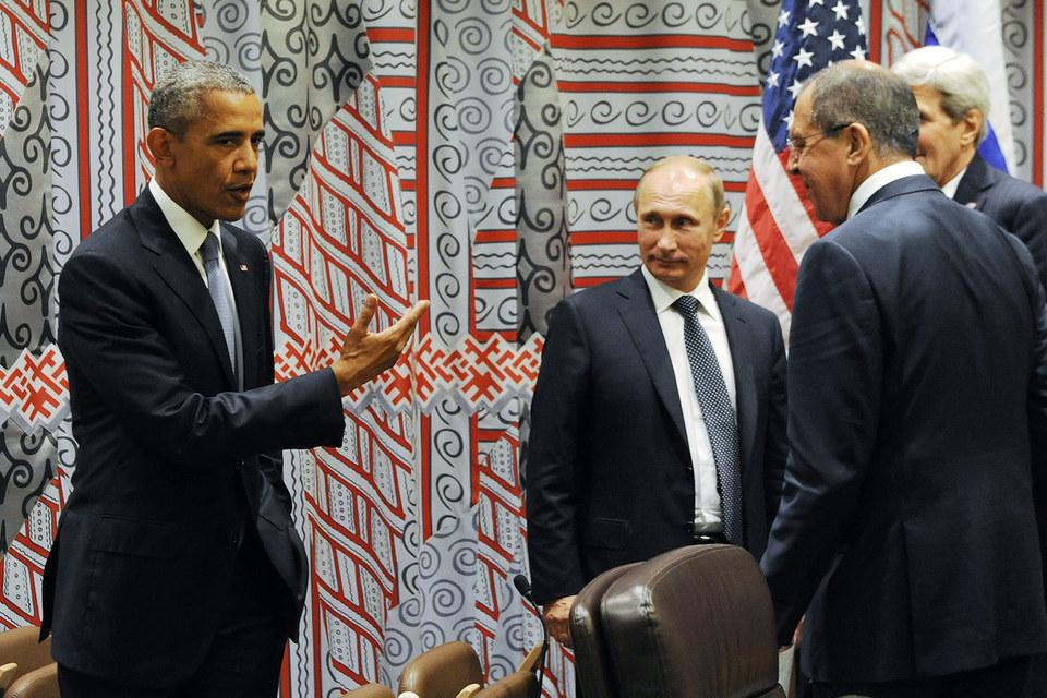 Западные СМИ пишут о дуэли Путина и Обамы