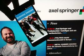 Покупка Business Insider дает Axel Springer доступ к сайту с ежемесячной аудиторией 76 млн уникальных пользователей