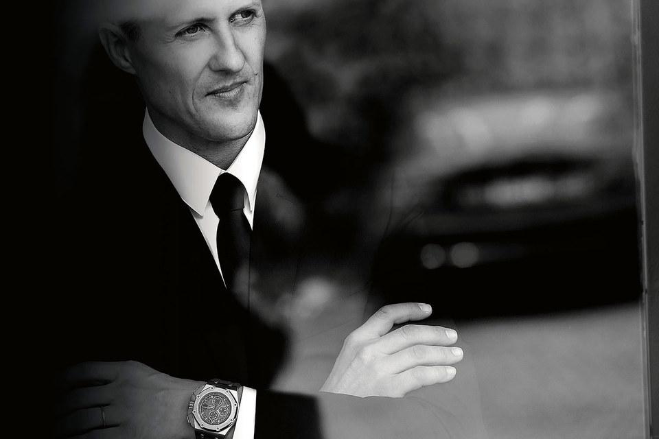 Легендарный автогонщик Михаэль Шумахер вдохновил мастеров швейцарской мануфактуры Audemars Piguet на создание инновационных часов