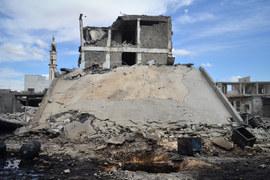 Как бомбят Сирию