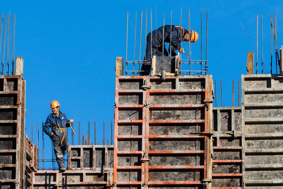 Стройка жилья не прекращается