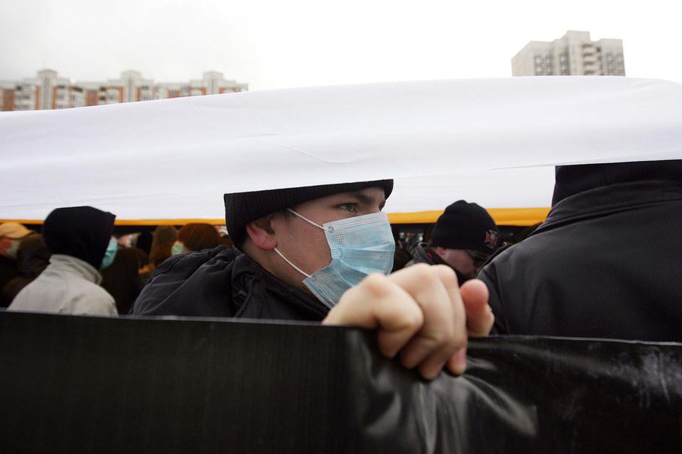 Митинги радикал-националистов становятся немногочисленными