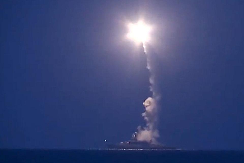 Сегодня Каспийская флотилия ВМФ России запустила 26 крылатых ракет по целям в Сирии