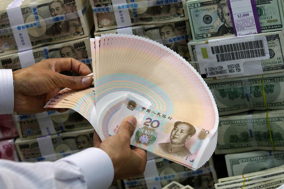 Китайский юань уступает по популярности только доллару США, евро и фунту стерлингов