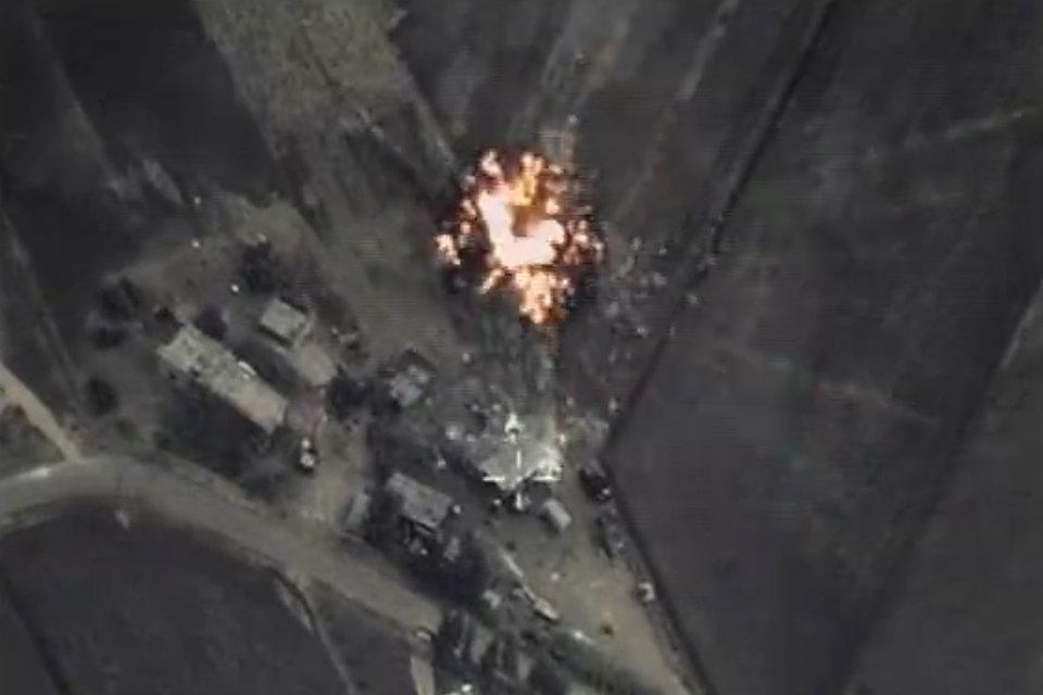 6 октября вечером в очередном отчете об авиаударах по Сирии Минобороны России сообщило, что за день российские самолеты совершили около 20 боевых вылетов