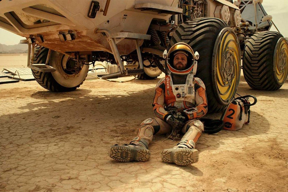 После двух недель проката «Марсианин» уже может расслабиться