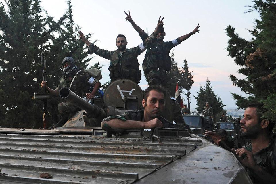 Целью же операции, судя по всему, является продвижение сирийской армии на север к турецкой границе для ликвидации каналов снабжения боевиков