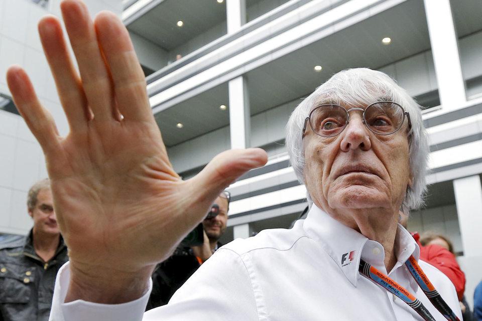Генеральный директор Formula One Management Берни Экклстоун