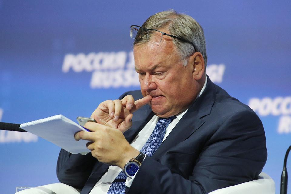 У ВТБ будет новая стратегия, сказал президент - предправления банка Андрей Костин