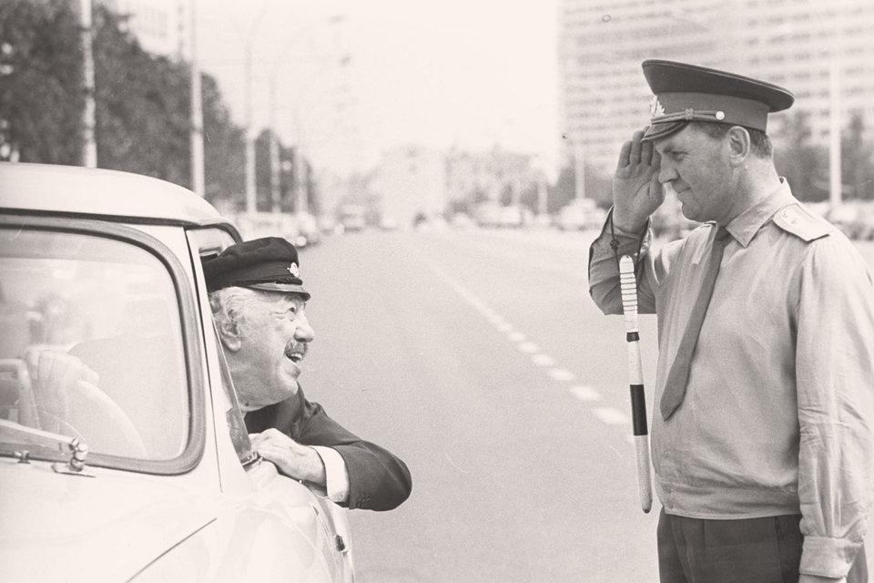 В СССР руководство местной милиции было глубоко погружено вместные проблемы