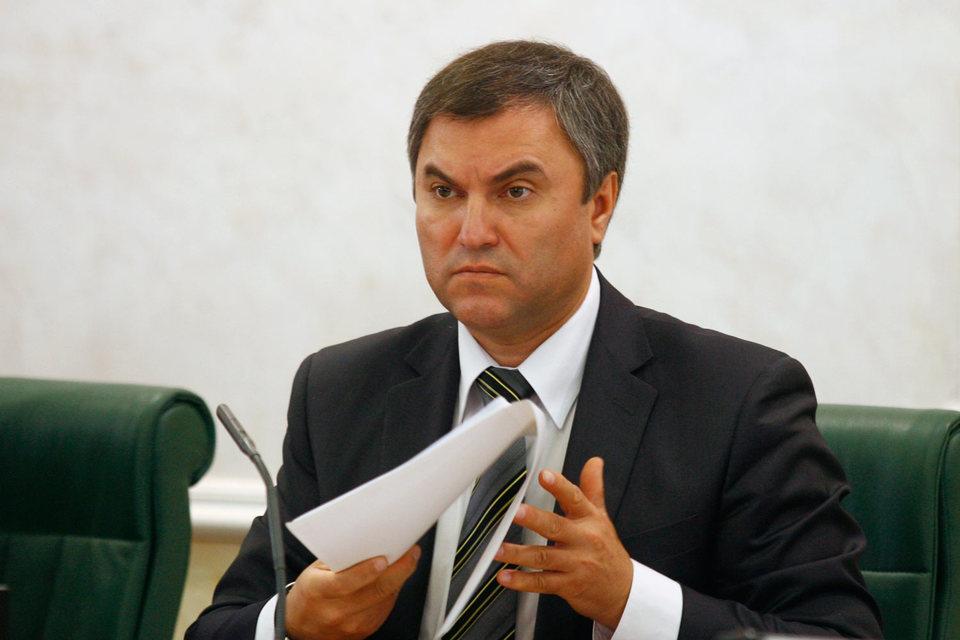 Две недели назад Володин пообещал, что в течение трех месяцев предложения поддержки СОНКО будут сформулированы
