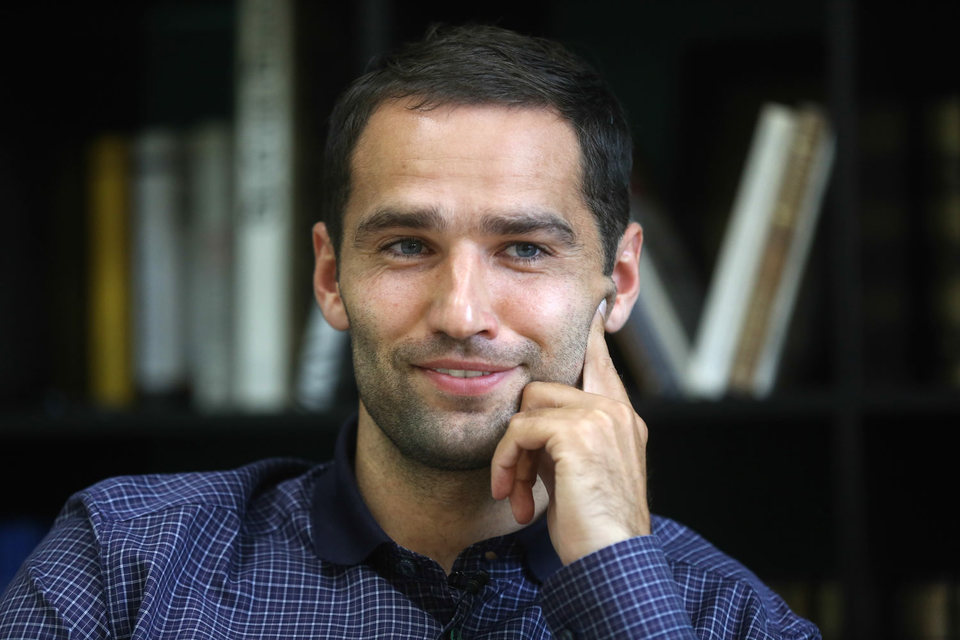 Капитан сборной России Роман Широков