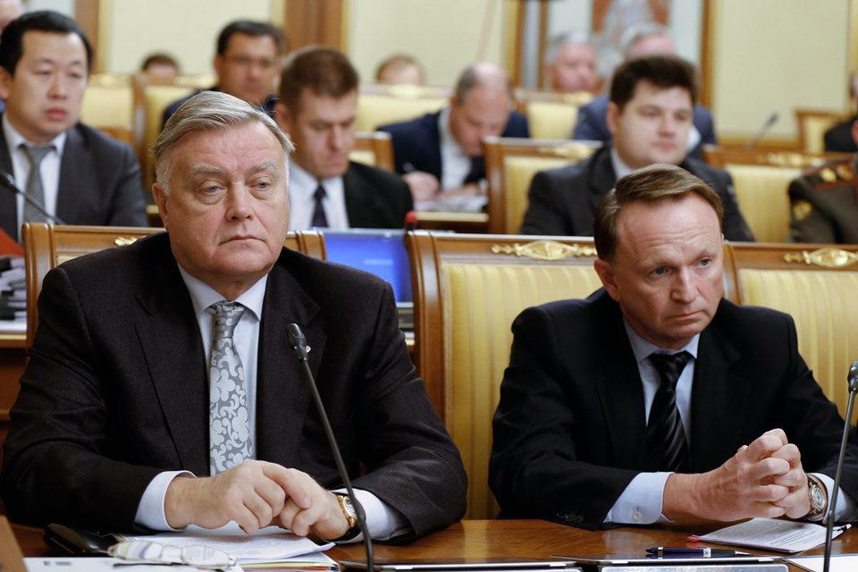 Сергей Мальцев (справа) мог прийти на работу в РЖД еще при Владимире Якунине (слева), но вряд ли тогда были бы востребованы его реформаторские способности