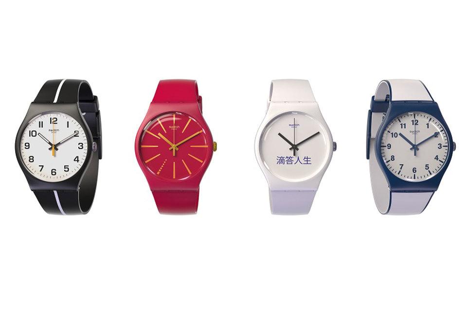 Чип часов Swatch Bellamy оснащен технологией NFC, которая позволяет электронным устройствам соединяться на небольших расстояниях