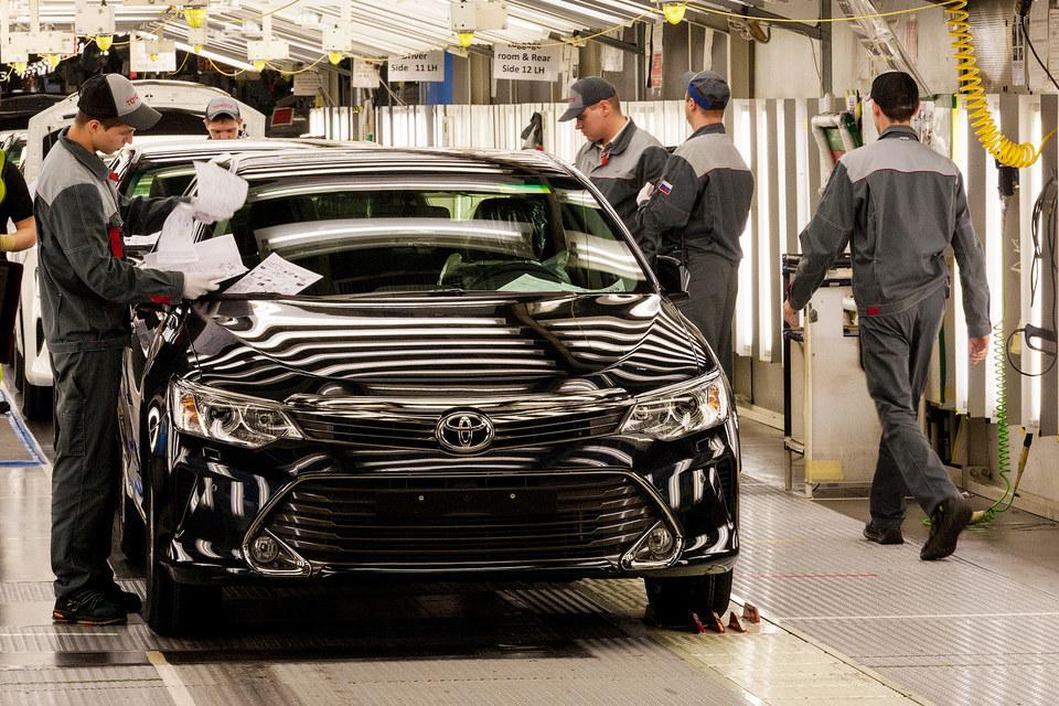 Автопроизводство снизилось не так значительно, как продажи
