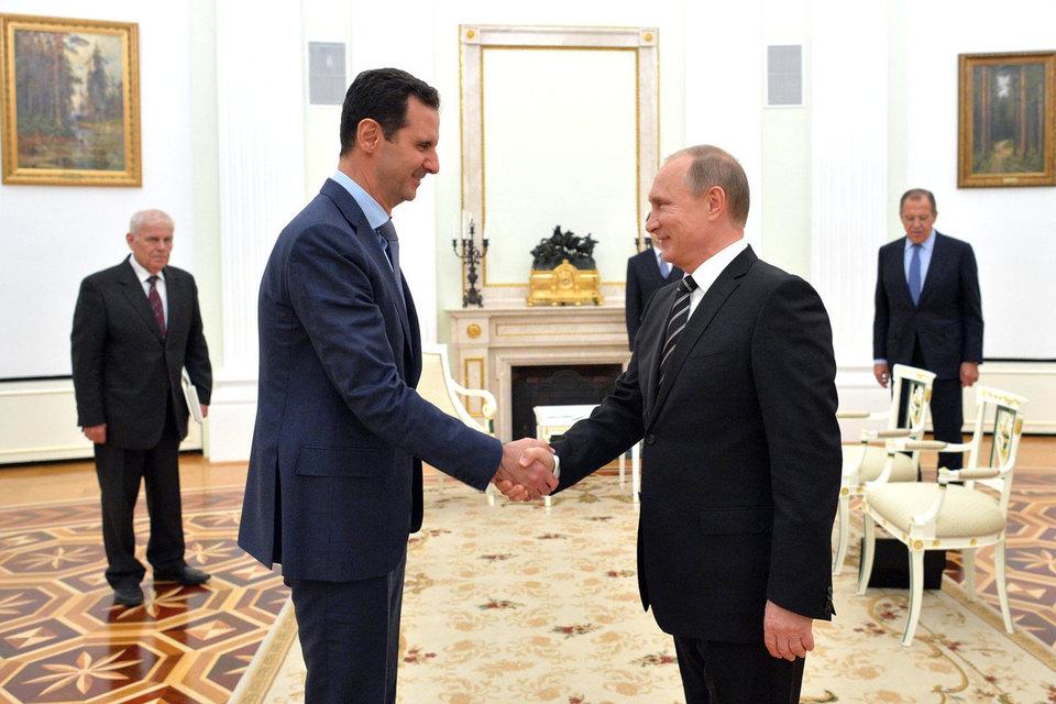 Кремль сообщил о визите в Москву Башара Асада