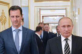 Владимир Путин и Башар Асад встретились незаметно