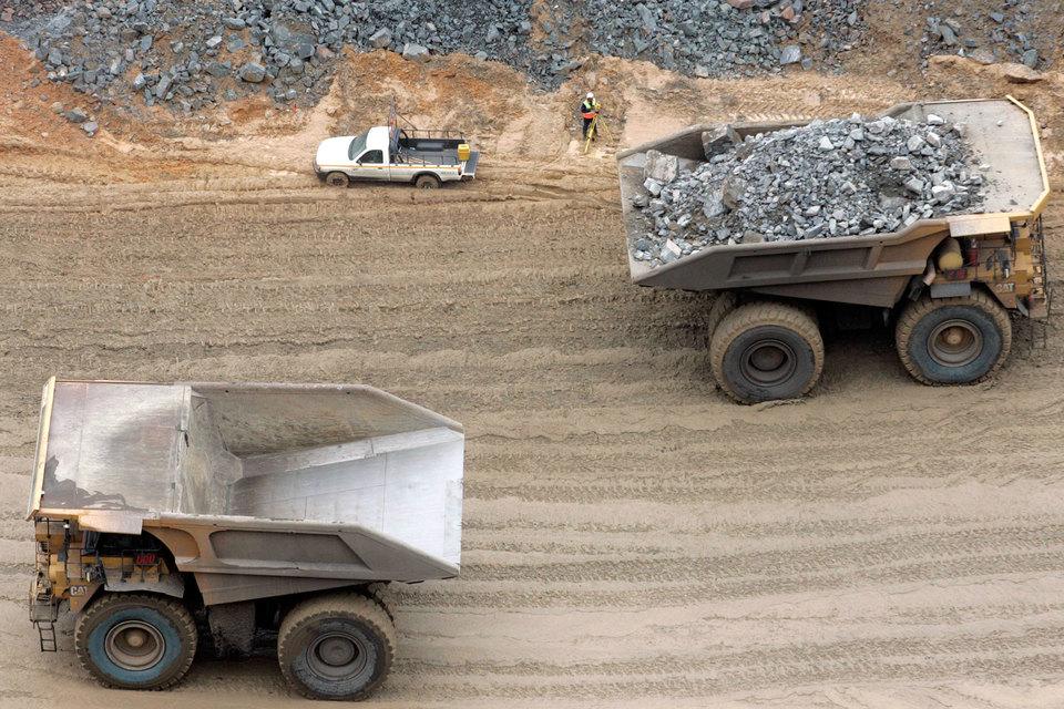 Разведка алмазов в зоне поиска De Beers — недалеко от границы с ЮАР — началась еще 1970-х гг.