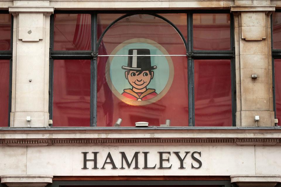 Старейший магазин игрушек Hamleys основан в Лондоне в 1760 г.