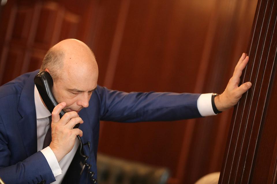 Министр финансов Антон Силуанов предупреждает, что для нарушителей прозвенел первый звонок