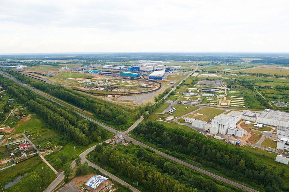 Индустриальный парк «Ворсино» (Калужская обл.) занимает более 2000 га
