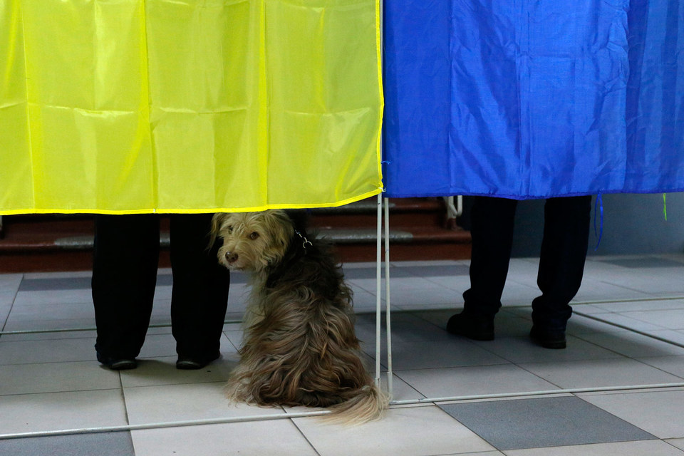 Явка на местных выборах на Украине 25 октября составила 46,62%
