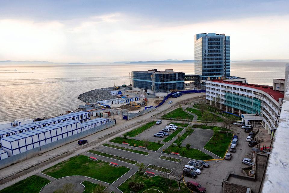 """Hyatt Vladivostok"" на мысе Бурный"