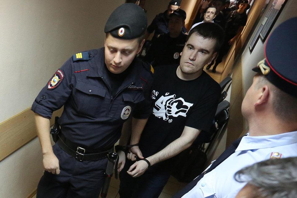 Осужденный по «болотному делу» Алексей Гаскаров