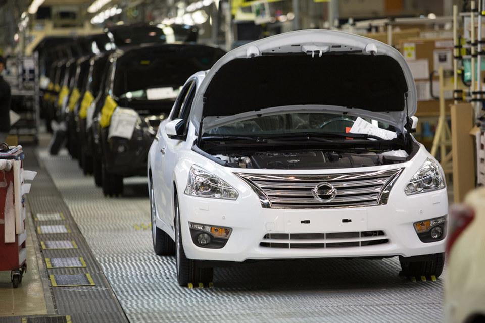 Nissan останавливает производство седана Teana на заводе в Санкт-Петербурге
