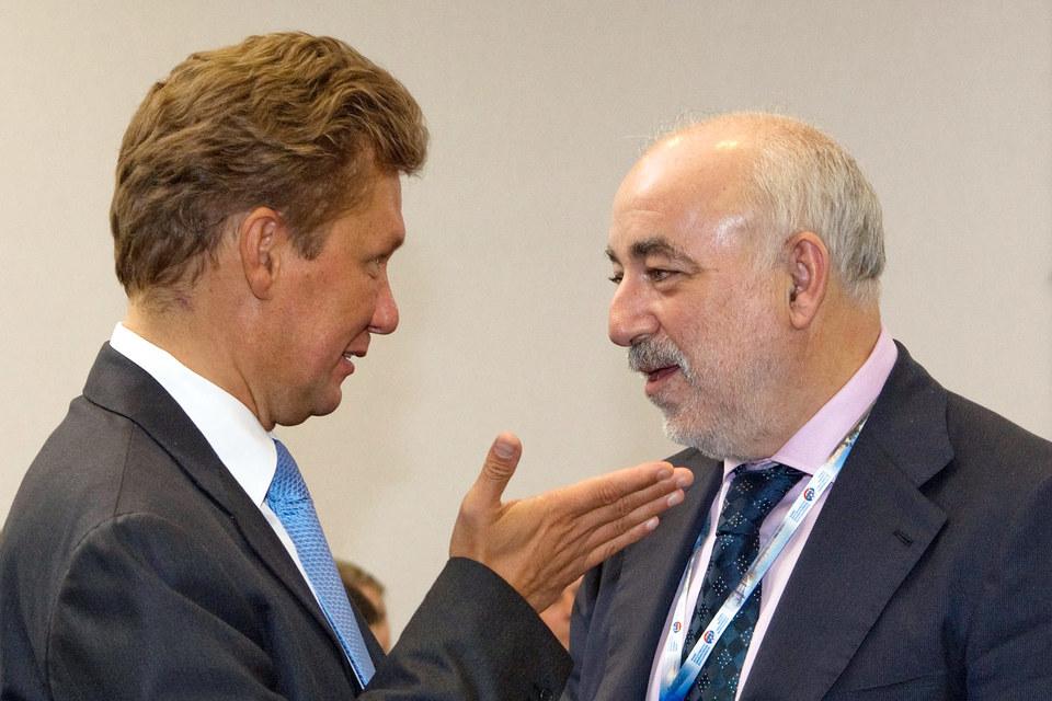 Алексей Миллер и Виктор Вексельберг