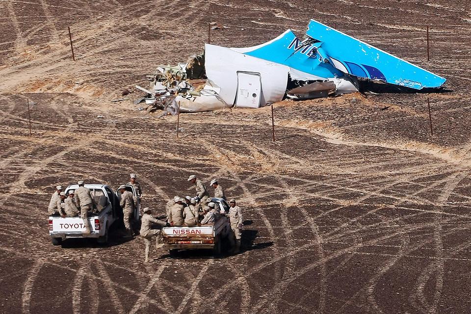 Американские аналитики не исключают, что на борту А321 взорвалась бомба
