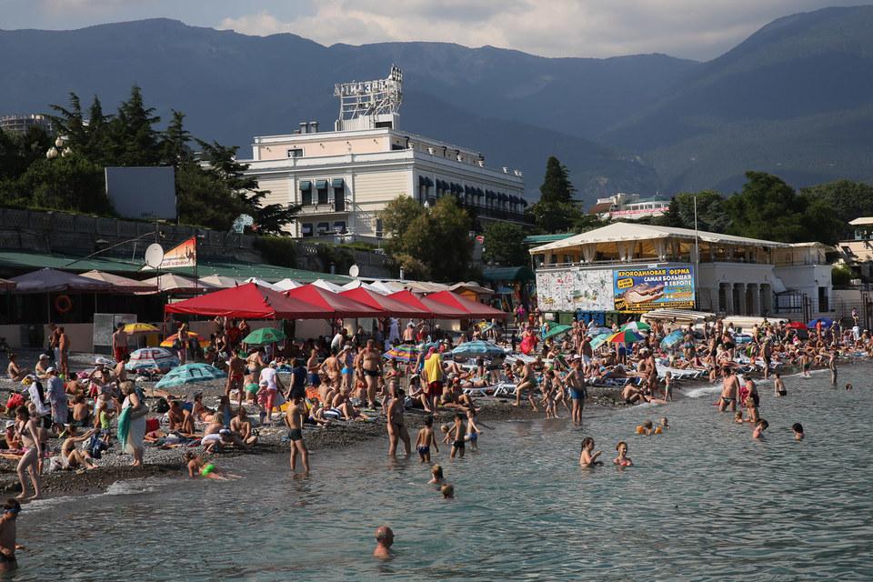 С присоединением Крыма к России турпоток внутри страны резко вырос